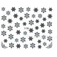 Коледни ваденки за нокти S118