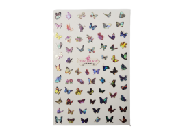 Стикери холограмни пеперуди