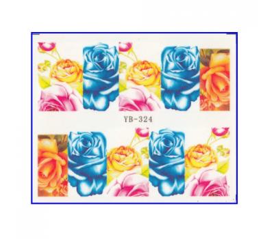 Ваденки за нокти цветя YB 324
