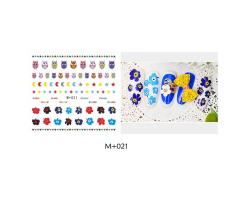 Ваденки за нокти Цветя 021