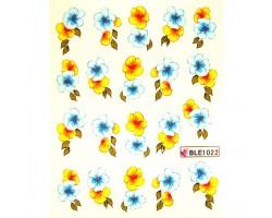 Ваденки за нокти Цветя 1022