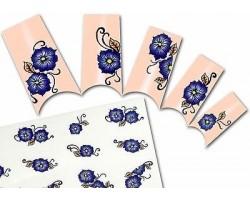 Ваденки за нокти Цветя BLE 1138