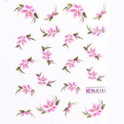 Ваденки за нокти Цветя BLE 141