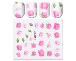 Ваденки за нокти Цветя BLE 2021