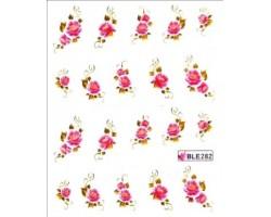 Ваденки за нокти Цветя 282