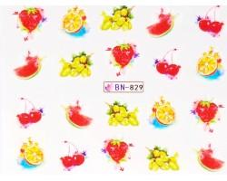 Ваденки за нокти  плодчета  BN 829