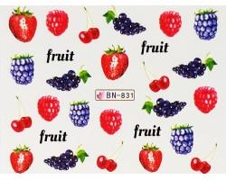 Ваденки за нокти  плодчета  BN 831