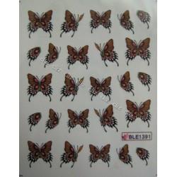 Ваденки за нокти Пеперуди BLE 1391