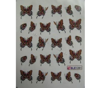 Ваденки за нокти Пеперуди 1391