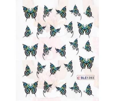 Ваденки за нокти Пеперуди 1393