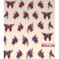 Ваденки за нокти Пеперуди 1396