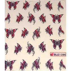 Ваденки за нокти Пеперуди BLE 1396