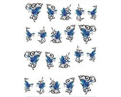 Ваденки за нокти Пеперуди 1398