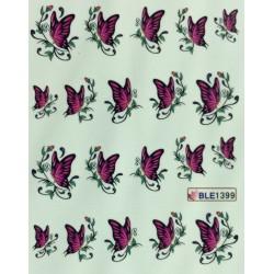 Ваденки за нокти Пеперуди BLE 1399