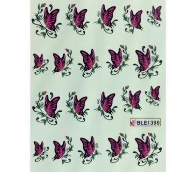 Ваденки за нокти Пеперуди 1399