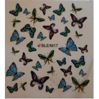 Ваденки за нокти Пеперуди 17
