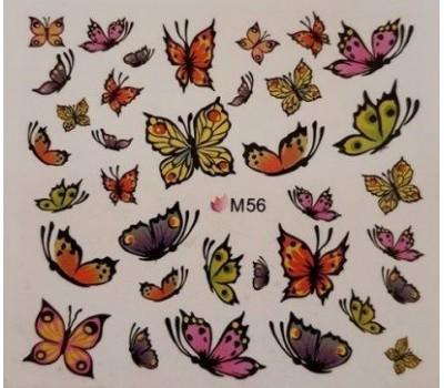 Ваденки за нокти Пеперуди 56