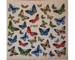 Ваденки за нокти Пеперуди 57