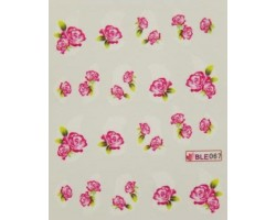 Ваденки за нокти Цветя 067