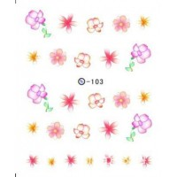 Ваденки за нокти Цветя 103
