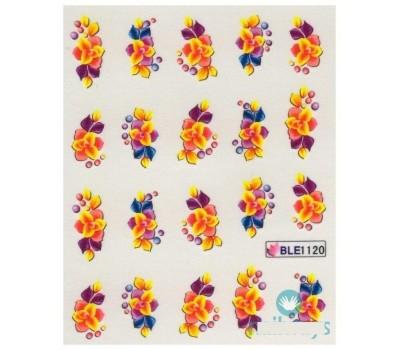 Ваденки за нокти Цветя 1120