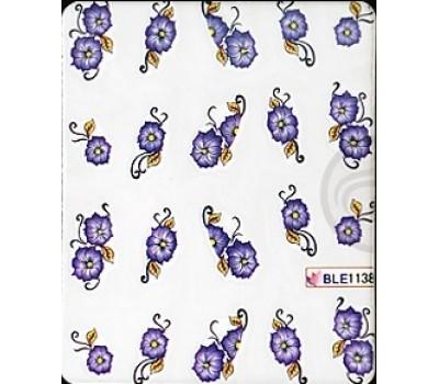 Ваденки за нокти Цветя 1138