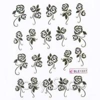 Ваденки за нокти Цветя 1337