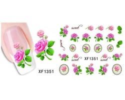 Ваденки за нокти Цветя 1351