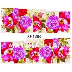 Ваденки за нокти Цветя XF 1386