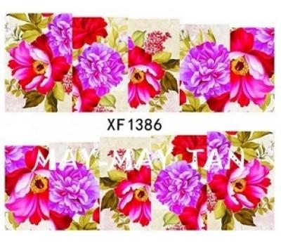 Ваденки за нокти Цветя 1386