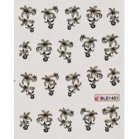 Ваденки за нокти Цветя 1401