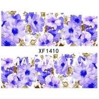 Ваденки за нокти Цветя XF1410