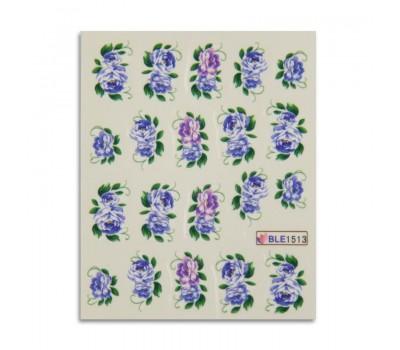 Ваденки за нокти Цветя 1513
