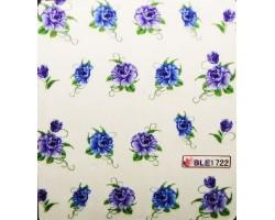 Ваденки за нокти Цветя 1722