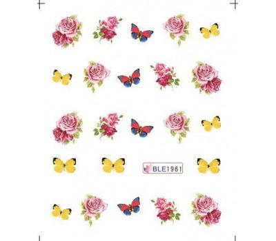Ваденки за нокти Цветя 1961