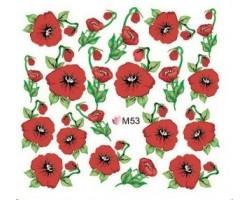 Ваденки за нокти Цветя 053