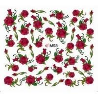 Ваденки за нокти Цветя M 093