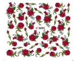Ваденки за нокти Цветя 093