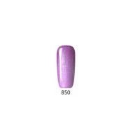 Гел лак Pretty 850 Бледо лилава перла