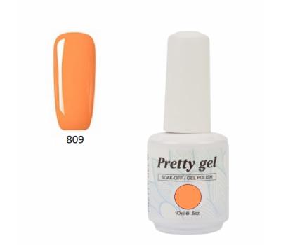 Гел лак Pretty 809  Оранжево небе