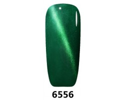 Магнитен гел лак Pretty 6556 Котешко око зелен