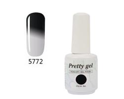 Гел лак Pretty Термо 5772 цвят ден и нощ