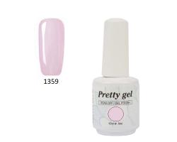 Гел лак Pretty 1359 розова перла
