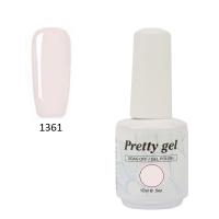 Гел лак Pretty 1361  Млечно розово
