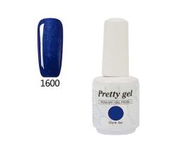 Гел лак Pretty 1600 Дълбоко синьо