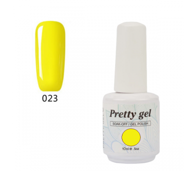 Гел лак Pretty A584  Жълто