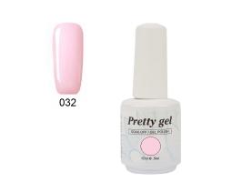 Гел лак Pretty 32 нежно розово - 3250