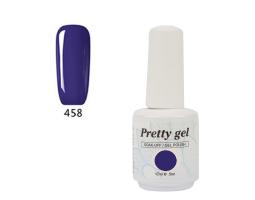 Гел лак Pretty 458  Виолетово вдъхновение