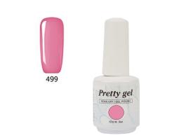 Гел лак Pretty 499  Сладко розово