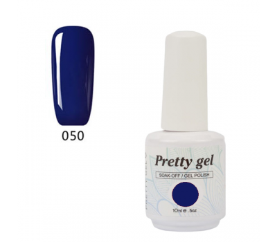 Гел лак Pretty 50 Турско синьо